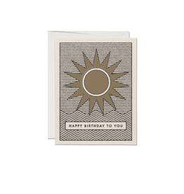 RAP - Card/Sun, Birthday