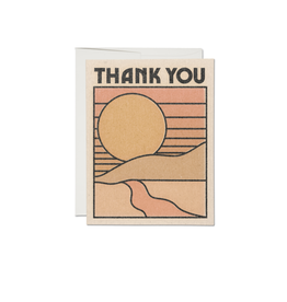 Card - Sun Thank You Card