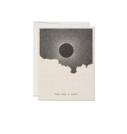 """RAP - Card / You are Light, Sunlight, 4.25 x 5.5"""""""