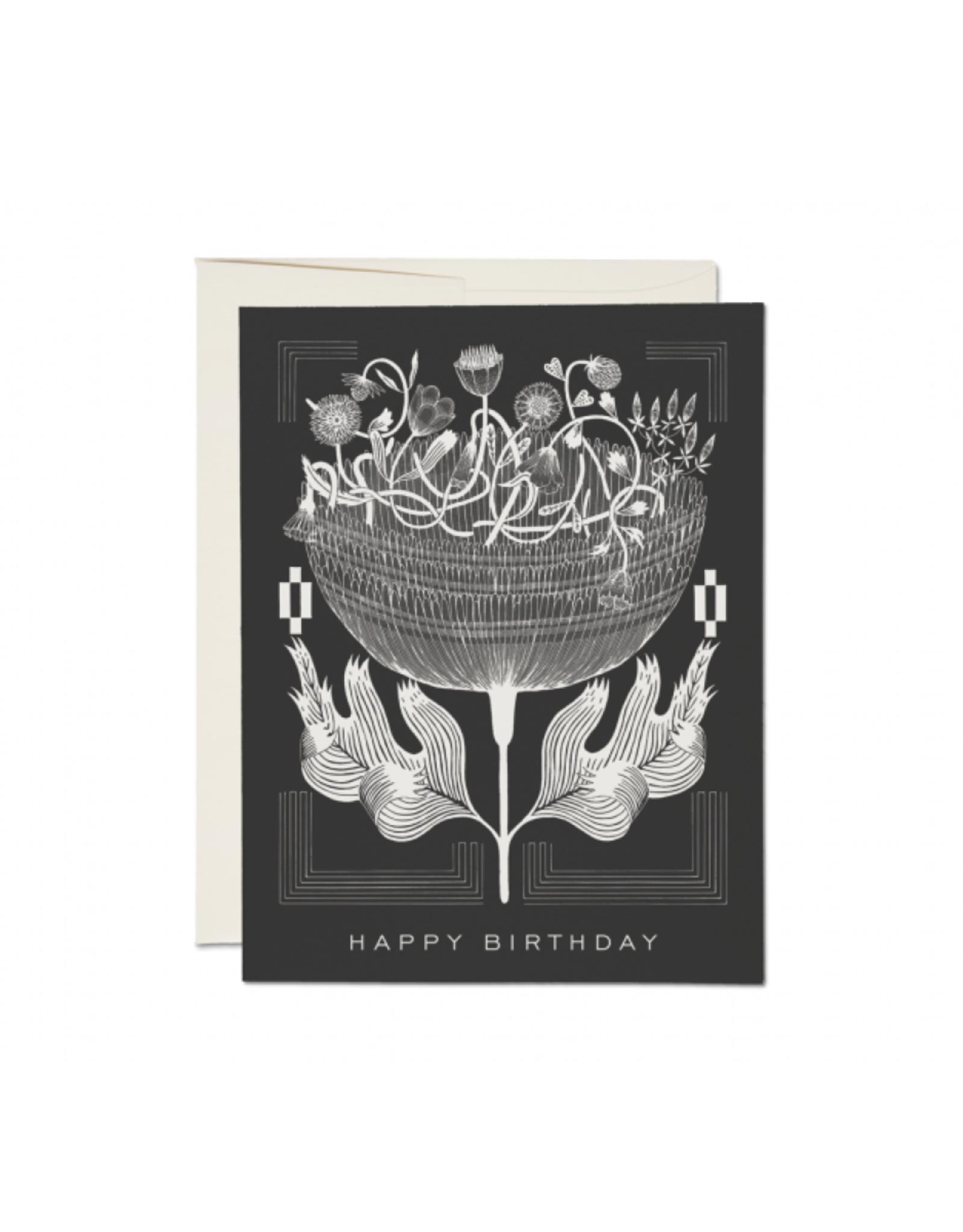 RAP - Card/Vintage Floral, Birthday