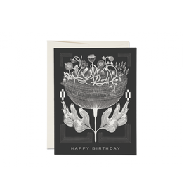 Card - Black & White Birthday Card