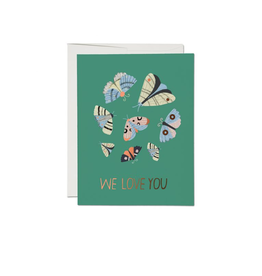 Card - Moth Magic Love Card