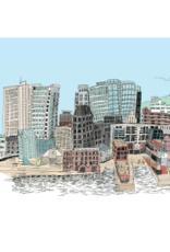"""Emma Fitzgerald - Print/Halifax Skyline, 8.5 x 11"""""""