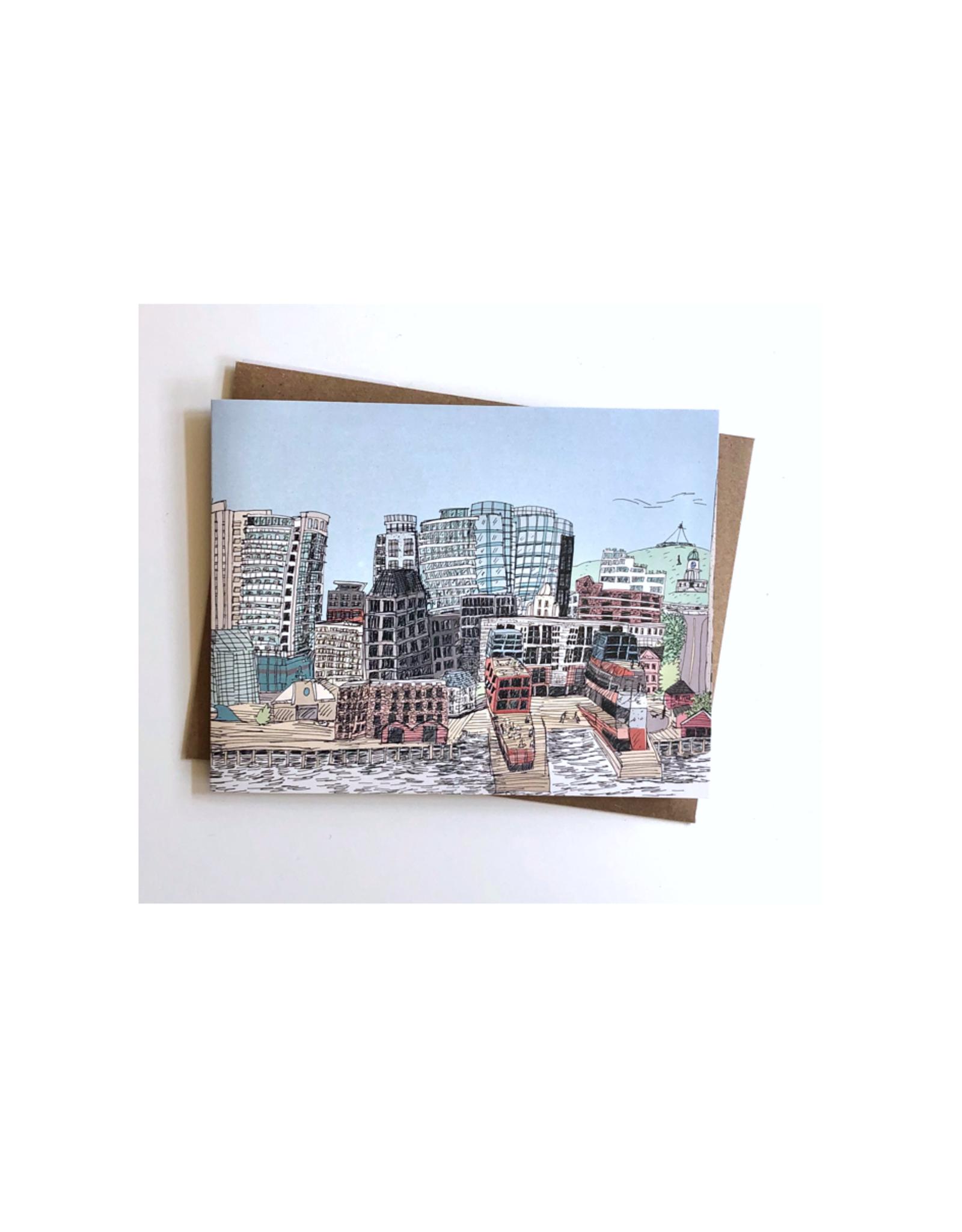 Emma Fitzgerald - Card/Halifax Skyline