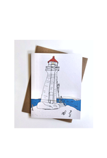 "Emma Fitzgerald - Card / Peggy's Cove, 4.25 x 5.5"""