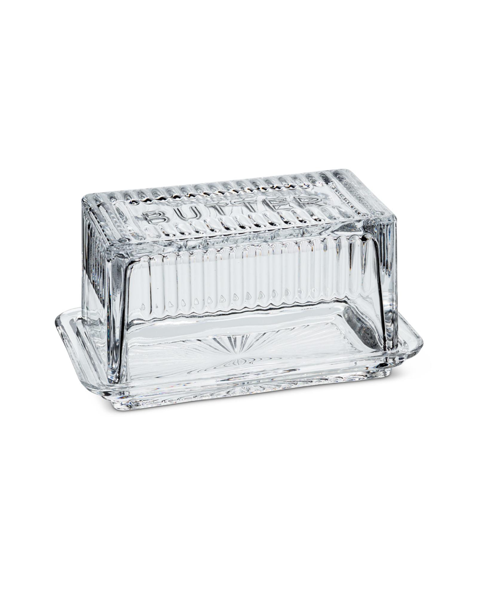 ATT - Glass Butter Dish/Block