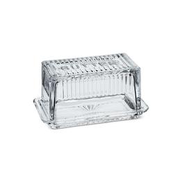 ATT - Glass Butter Dish/Block Size