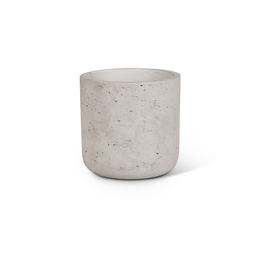 "ATT - Concrete Planter/Grey, Medium 7"""