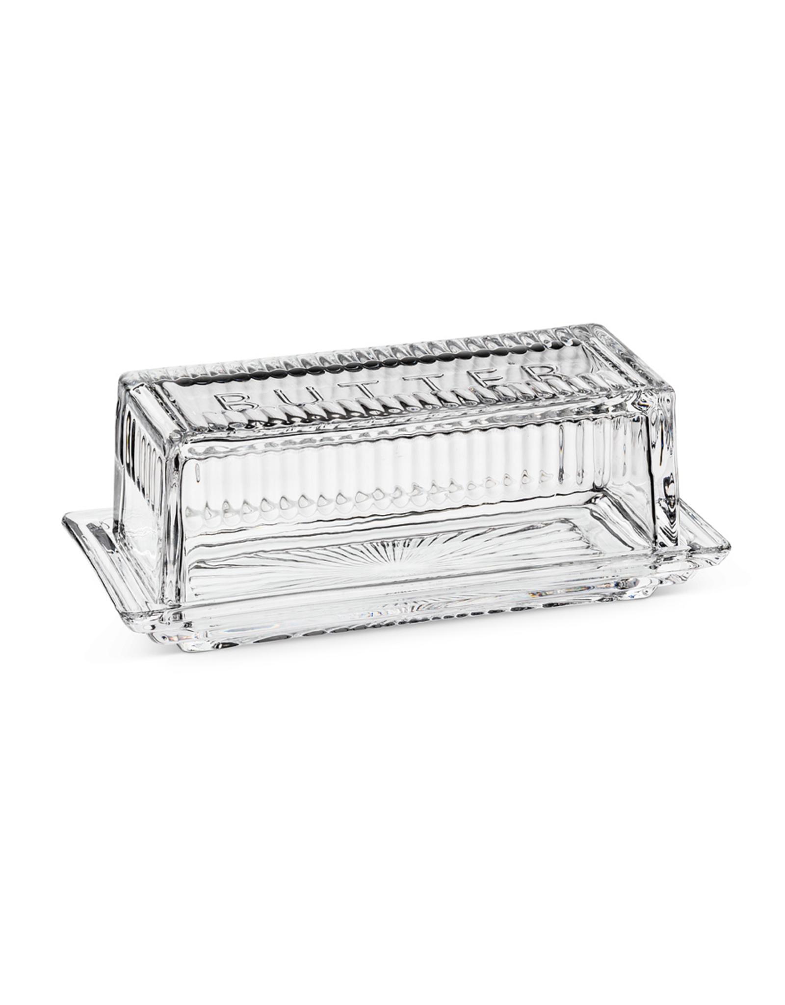 ATT - Glass Butter Dish/Stick