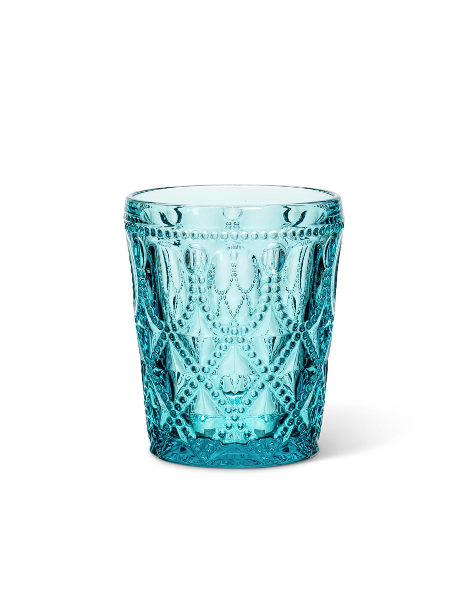 ATT - Tumbler Glass / Jewel, Turquoise, 12oz