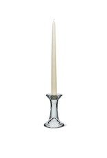 """ATT - Taper Candle Holder/Simple Glass 5"""""""