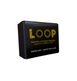 PLH - Loop  Soap/Pineapple Active Charcoal, 100g