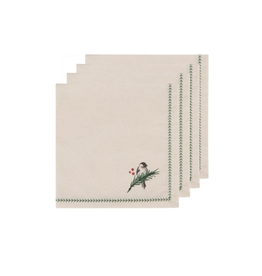 DCA - Napkin/Set 4, Woodland Birds