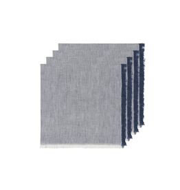 DCA - Napkin/Set 4, Chambray, Navy