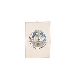 IBA - Tea Towel/I Need Vitamin Sea