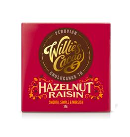 DLE - Willie's Cacao/Hazelnut Raisin Bar 50g