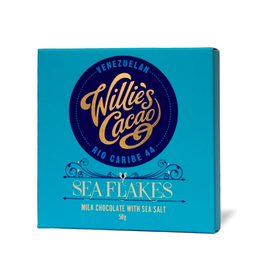 DLE - Willie's Cacao/Sea Salt Flakes Bar, 50g