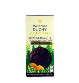 DLE - Duchy Chocolate Covered Orange Biscuits 100g