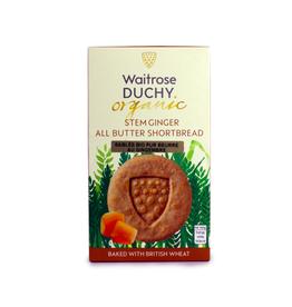 DLE - Duchy Stem Ginger Shortbread 150g