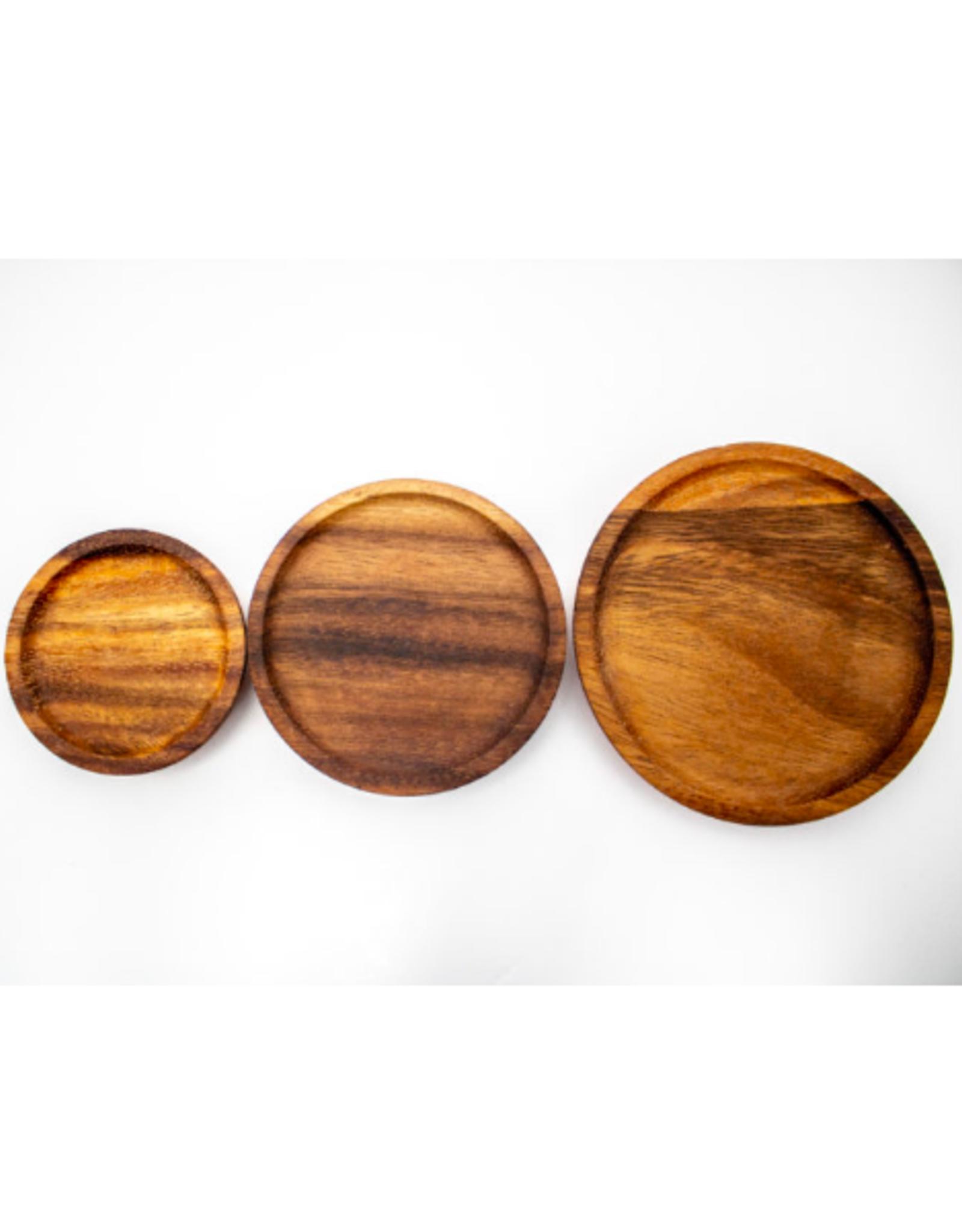 WECK - Acacia Wood Lid/M