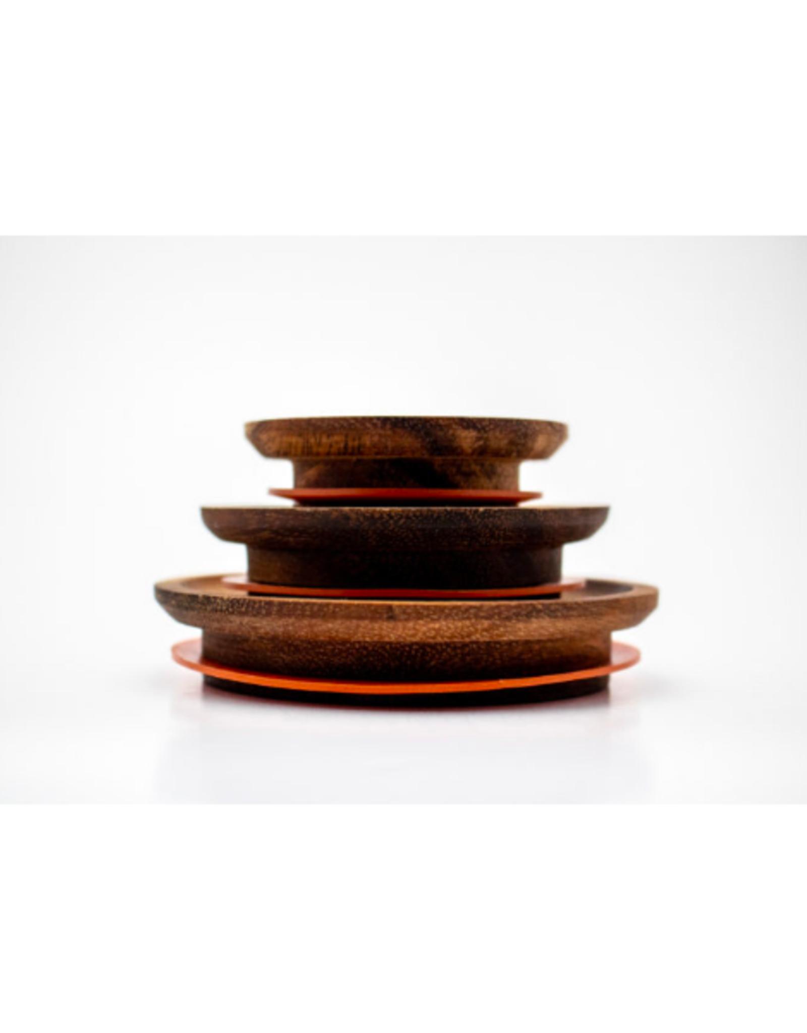 WECK - Acacia Wood Lid / Medium
