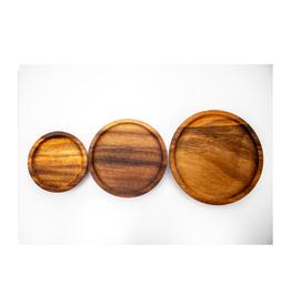 WECK - Acacia Wood Lid / Large