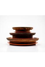 WECK - Acacia Wood Lid/L