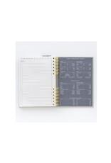 DKS - Hardcover Undated Planner/Black