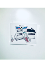 "Emma Fitzgerald - Card / Shore Club, 4.25 x 5.5"""