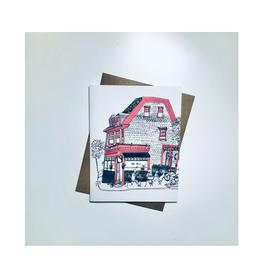 """Emma Fitzgerald - Card/Dee Dee's, 4.25 x 5.5"""""""