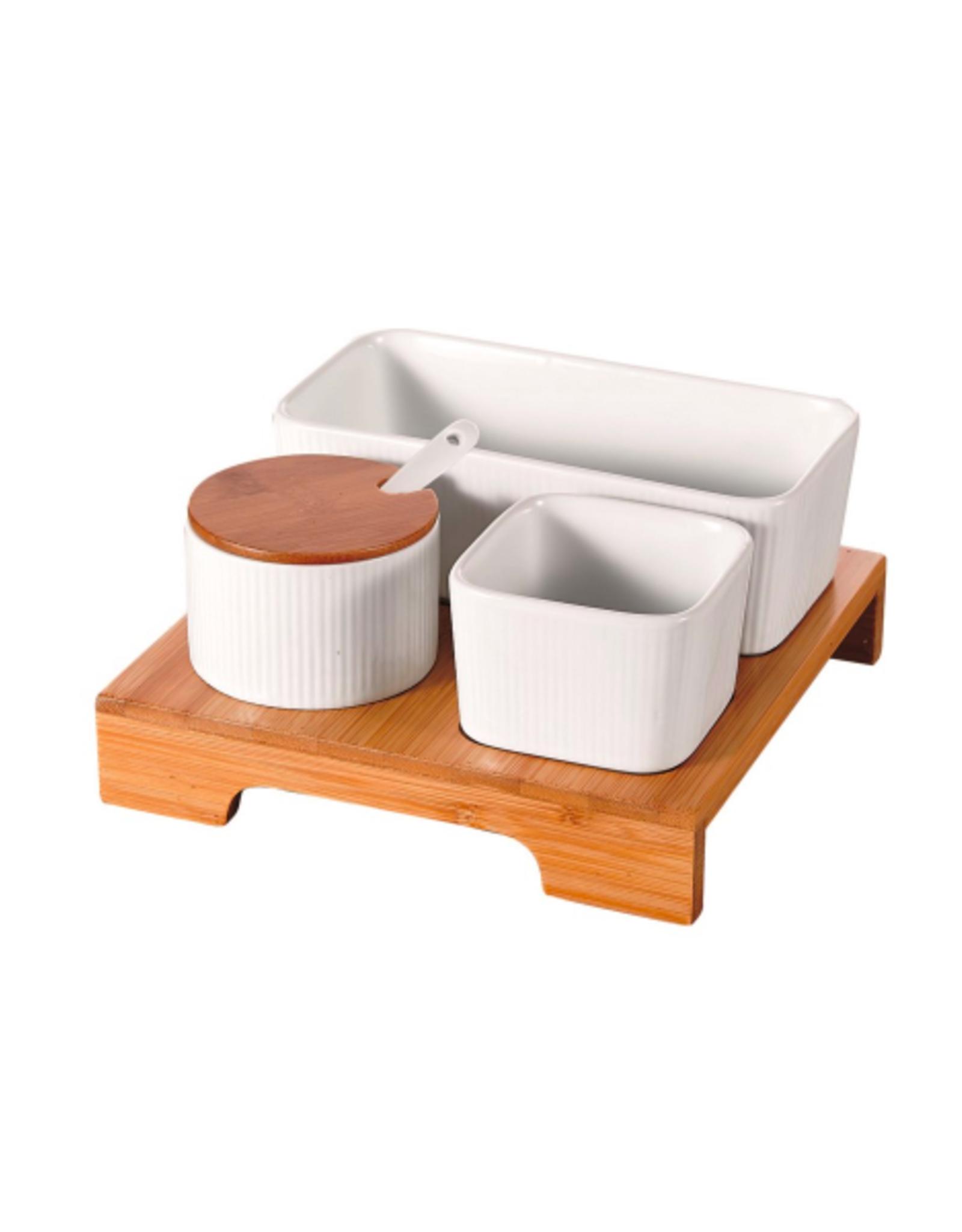 NIA - Minimal Serving/ Condiment Set