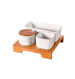 NIA - Minimal Serving & Condiment Set