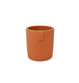 NIA - Terracotta Planter/Figure 3""