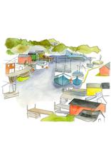 Kat Frick Miller -  Card/Boats