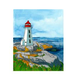 """Kat Frick Miller - Print/Peggy's Cove 8 x 10"""""""