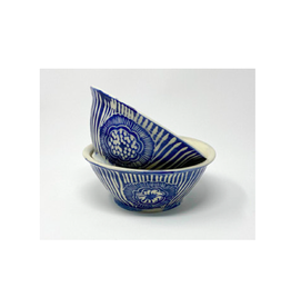 KG Ceramics Studio KG Ceramics - Large Bowl/Blue