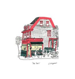 """Emma Fitzgerald - Print/Dee Dee's 8.5 x 11"""""""