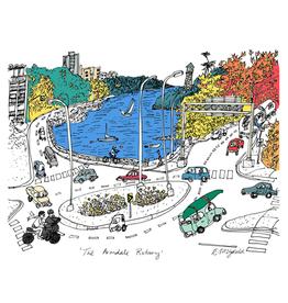 """Emma Fitzgerald - Print/Armdale Rotary, 8.5 x 11"""""""