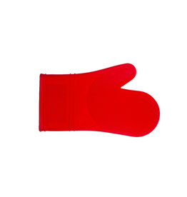 PLE - Silicone Oven Mitt/Red