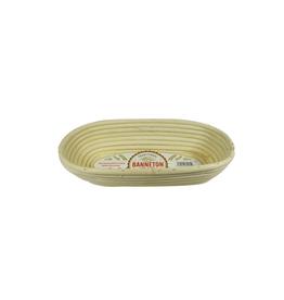 "PLE - Banneton Oval Proofing Basket/11.5 x 5 x 3"""