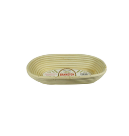 PLE - Banneton Proofing Basket/Oval, 11.5 x 5 x 3""