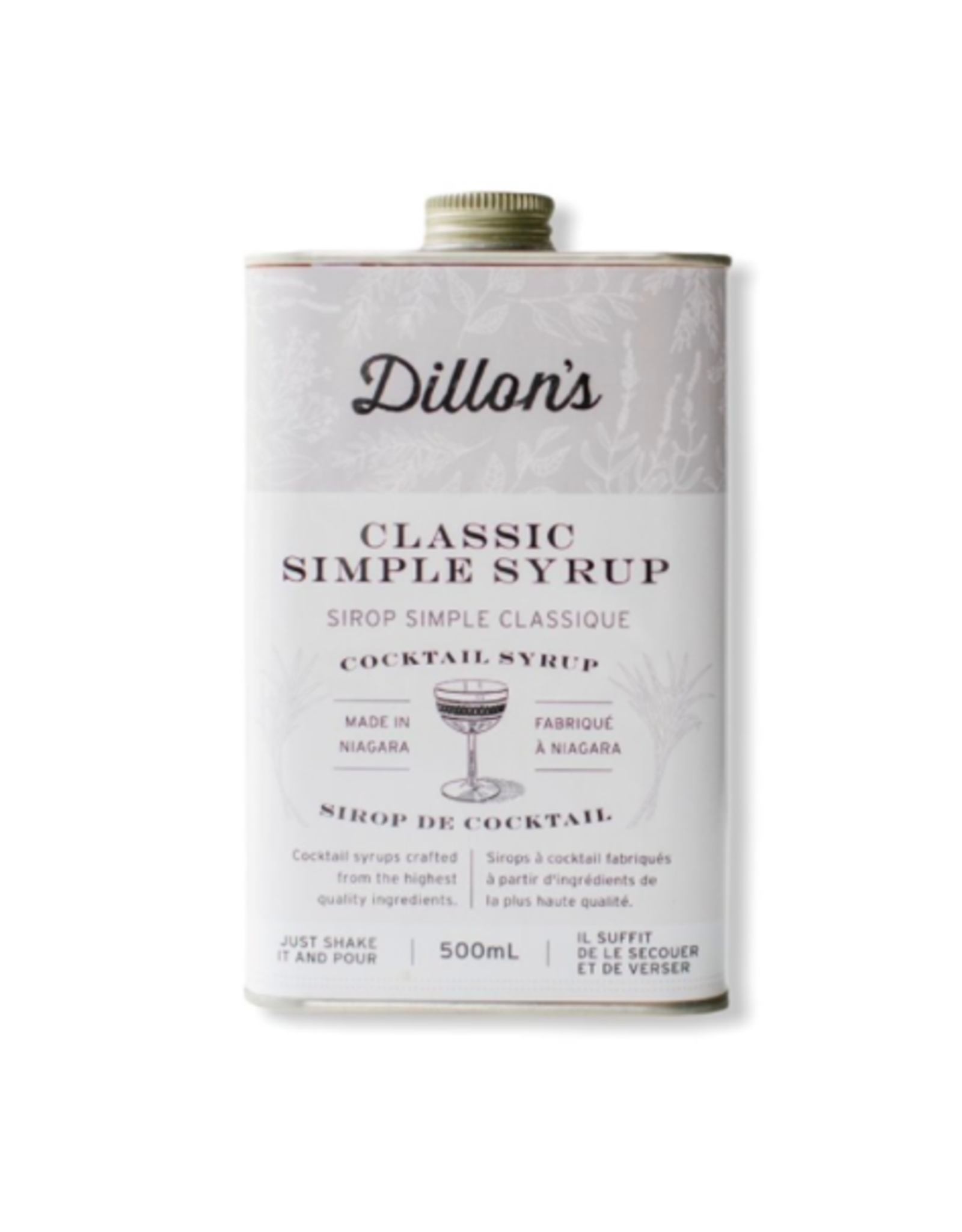 Dillon's - Classic Simple Syrup, 500ml
