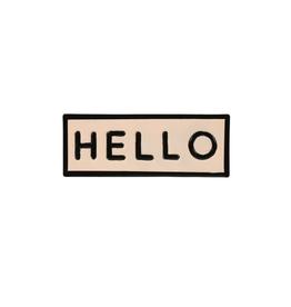 IBA - Enamel Hello Sign