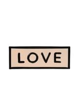 "IBA - Sign / Love, Enamel, 8.25"""