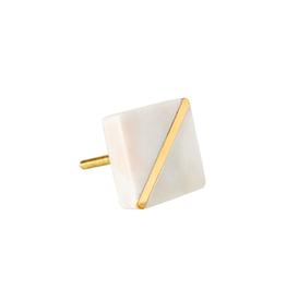 IBA - Knob/Marble & Gold