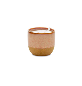 PAX - Rust Glaze Soy Candle/Pink Opal & Persimmon 6oz