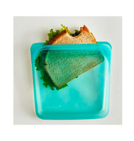 DCO - Stasher Reusable Sandwich Bag/Turquoise