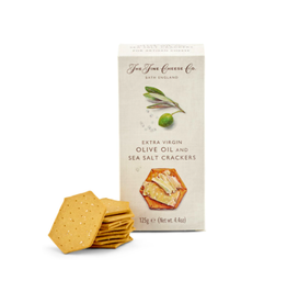 DLE - Fine Cheese Co./Olive Oil & Sea Salt Crackers, 125g