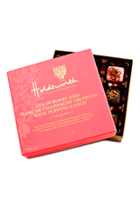 DLE - Holdsworth/Strawberry Marc de Champagne Truffles with Popping Candy 115g