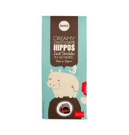 DLE - Baru/Dark Chocolate Sea Salt Caramel Hippos 60 g